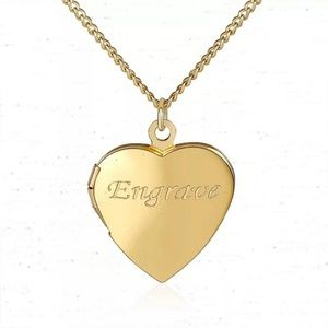Personalized engraved locket